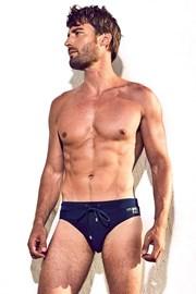 DAVID 52 Basic Slip Blue férfi úszónadrág