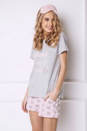 Diamonds női pizsama, rövid