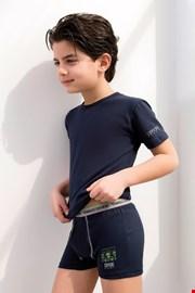 Enrico Coveri 4071 fiú boxeralsó és póló szett