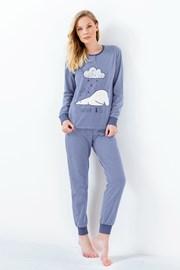 Susianne női pizsama, kék
