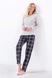 Női pizsama 3034, szürke