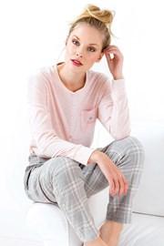 Stella női pizsama, rózsaszín