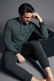 Fabias olasz férfi pizsama