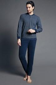Fabias Blue olasz férfi pizsama