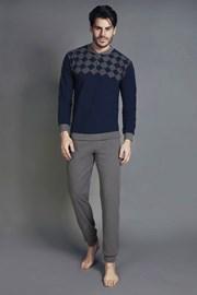 ENRICO COVERI 5034BL férfi pizsama