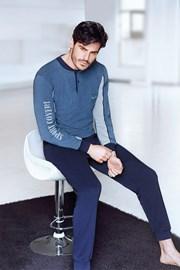 Alberto férfi szabadidőruha kék