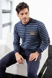 ENRICO COVERI Athletic Blue férfi pizsama