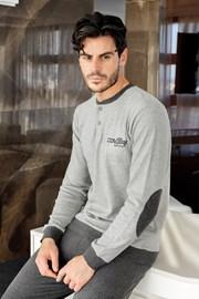ENRICO COVERI Grey férfi pizsama