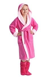 Zuzana lányka köntös, rózsaszín
