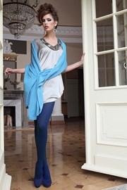 Glamour Soft Blue elegáns harisnyanadrág