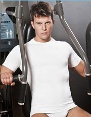 HASTER Antibacterial Sport férfi póló, varrások nélküli