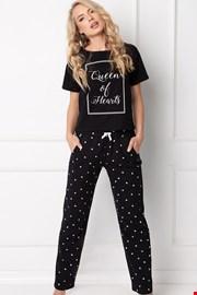 Hearty női pizsama, hosszú
