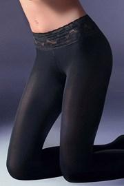 Exclusiv csípő fazonú női harisnyanadrág, 40 DEN