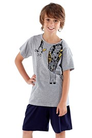 Giraffe fiú pizsama