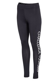 4f Challenge Black női sportlegging