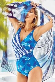 Miradonna MI8008 olasz egyrészes női fürdőruha, alakformáló, merevítők nélkül