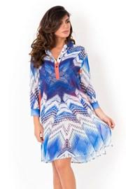 Miradonna Beach olasz női strandruha, ing szabású