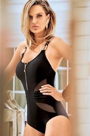 Miradonna MI8024 olasz egyrészes női fürdőruha, alakformáló, merevítők nélkül