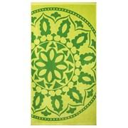 Mandala strand fürdőlepedő, zöld