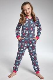 Cornette Owl lányka kezeslábas pizsama