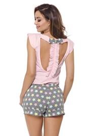 Susane női pizsama, rózsaszín