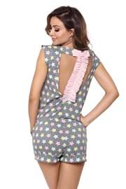 Susane női pizsama, szürke