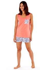 Paisley pamut női pizsama