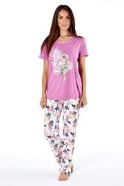 Parrot pink női pamut pizsama
