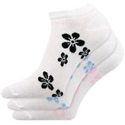 Piki A női zokni, alacsony, 3 pár 1 csomagban