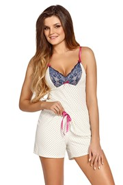 Rafaela ecru női pizsama