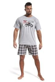 CORNETTE Bike Redline férfi pizsama