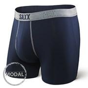 SAXX Platinum Navy Grey férfi boxeralsó
