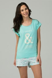 Wifi & Coffee női pizsama