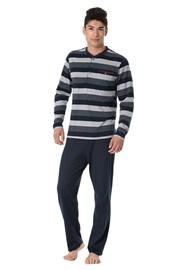 RÖSSLI Stripes Long férfi pizsama