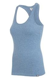 4F Blue ujjatlan női sportpóló