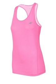 4F Dry Control Pink ujjatlan női sportpóló