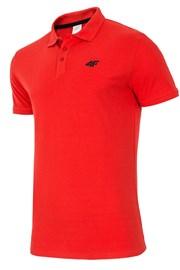4F Red galléros férfi póló, 100% pamut