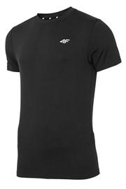4F Dry Control Black férfi fitness póló