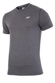4F Dry Control Melange férfi fitness póló