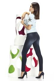 Timea női legging, farmer designban