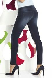 Timea női leggings, farmer designban