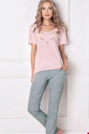 Wild look női pizsama, hosszú