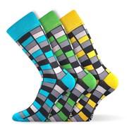 Woodoo MixG divatos zokni 3 db-os csomagolás