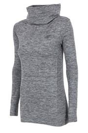 4f Grey - funkcionális női szabadidő felső, garbóval