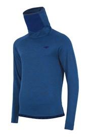 4f Blue funkcionális férfi szabadidő felső, garbóval