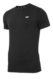 4F Dry Control Black férfi póló