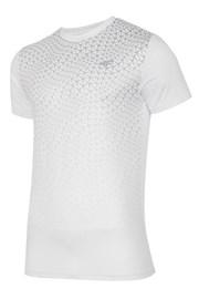 4F Dry Control Dynamic White férfi funkcionális póló
