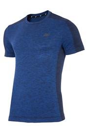 4F Dry Control Blue férfi funkcionális póló