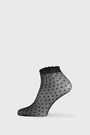 Női zokni, mintás