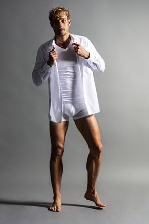 Slim White férfi póló 2 db-os csomagolásban